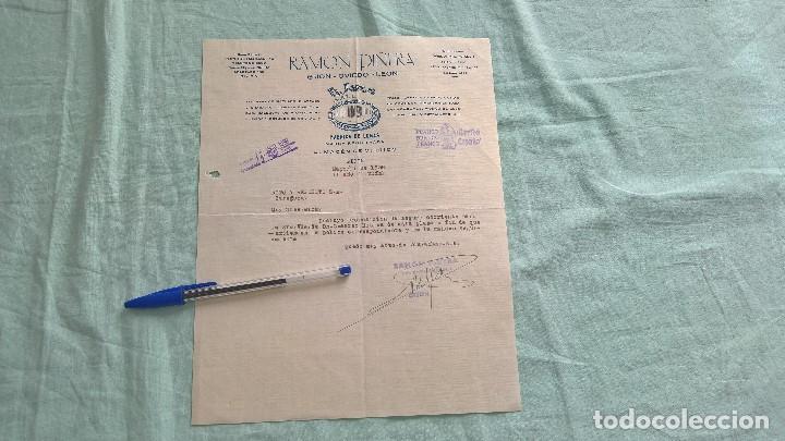 Militaria: Franco..Arriba España..1938 II año Trinfal..Gijon..Ramon Piñera..El Espejo Azul - Foto 2 - 195378763