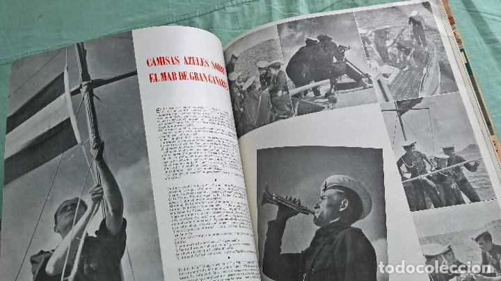 Militaria: Vertice..1938..Avance por Cataluña..revista Falange.. - Foto 4 - 195381853