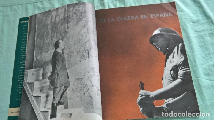 VERTICE..1938..AVANCE POR CATALUÑA..REVISTA FALANGE.. (Militar - Propaganda y Documentos)