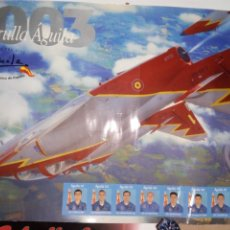 Militaria: PATRULLA AGUILA 2003 64X45CM. Lote 195429687