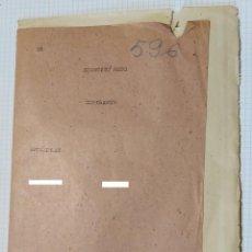 Militaria: CARPETILLA CON DOCUMENTOS DE COMISARIO POLÍTICO. Lote 195496563