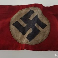 Militaria: WWII ARMBAND DE NAZI PARTIDO NSDAP , WEHRMACHT , WAFFEN SS. Lote 195523601