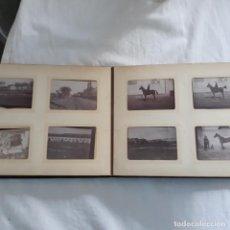 Militaria: ALBUM DE FOTOS MILITARES DE SIGLO XIX,PRINCIPIOS XX,CABALLERIA,FRANCESA. Lote 197175676