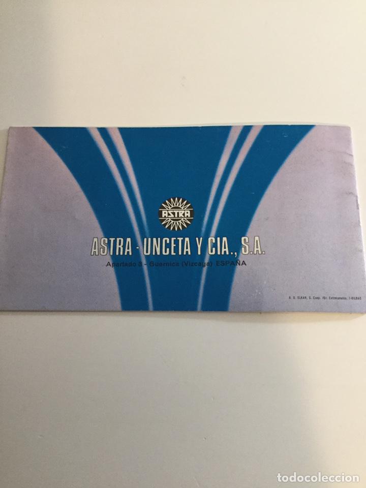 Militaria: Manual revólver Astra 250 - Foto 5 - 197787515