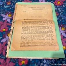 Militaria: BOLETÍN OFICIAL DE LA EMBAJADA ALEMANA 1941 EN CASTELLÓN. Lote 197825302