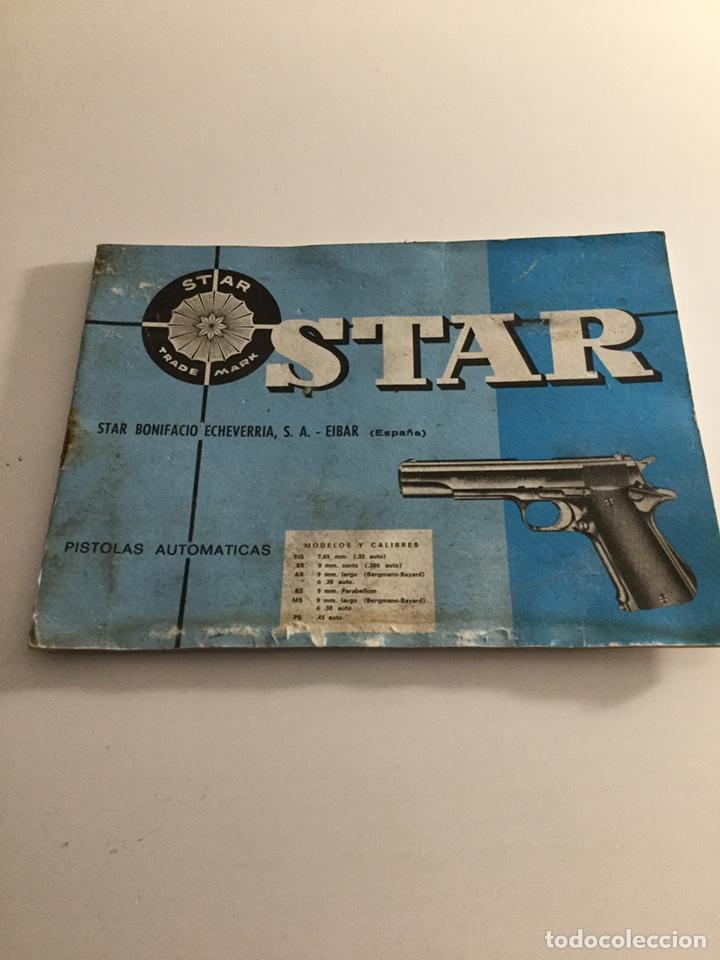 MANUAL PISTOLA STAR (Militar - Propaganda y Documentos)