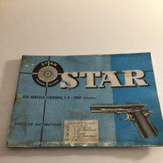 Militaria: MANUAL PISTOLA STAR. Lote 197831393