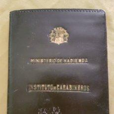 Militaria: CARNET SIN USO DEL INSTITUTO CARABINEROS REPUBLICA. Lote 198616043