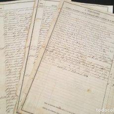 Militaria: GUERRA DE CUBA MATANZAS 1896 4 SUBDIVISION CUERPOS Y SITUACIONES PERMANECIDO DESDE ENTRADA SERVICIO. Lote 198794671