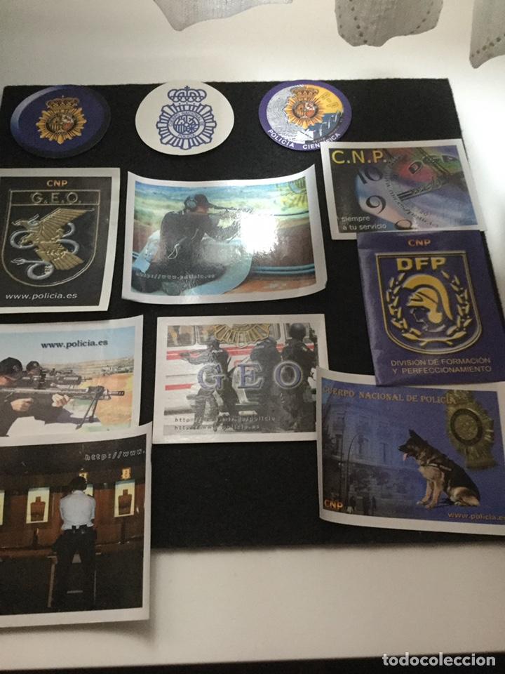 PEGATINAS POLICÍA NACIONAL (Militar - Propaganda y Documentos)