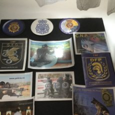 Militaria: PEGATINAS POLICÍA NACIONAL. Lote 199837477