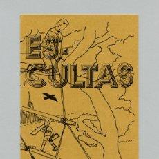 Militaria: SCOUTS DE ESPAÑA - FOLLETO SCOUT PUBLICITARIO DE CAPTACIÓN - ESCULTAS - 1982 - ESCULTISMO. Lote 202595200