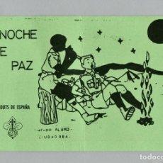 "Militaria: SCOUTS DE ESPAÑA - GRUPO SCOUT ""ALAMO"" - CIUDAD REAL - CHRISTMA - AÑOS 80 - ESCULTISMO. Lote 202599446"