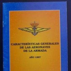 Militaria: ARMADA ESPAÑOLA. FLOTILLA DE AERONAVES. ARMA AÉREA. LIBRETO. Lote 202812886