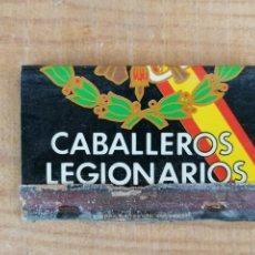 Militaria: CERILLAS CABALLEROS LEGIONARIOS. Lote 204455578