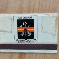 Militaria: LA LEGION SUBINSPECCION. Lote 204455798