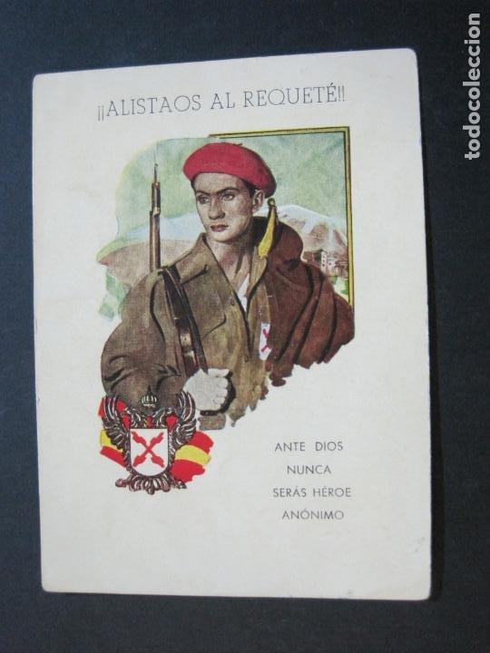 ALISTAOS AL REQUETE !--PUBLICIDAD ANTIGUA-(70.531) (Militar - Propaganda y Documentos)