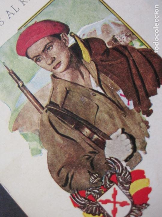 Militaria: ALISTAOS AL REQUETE !--PUBLICIDAD ANTIGUA-(70.531) - Foto 3 - 205319741