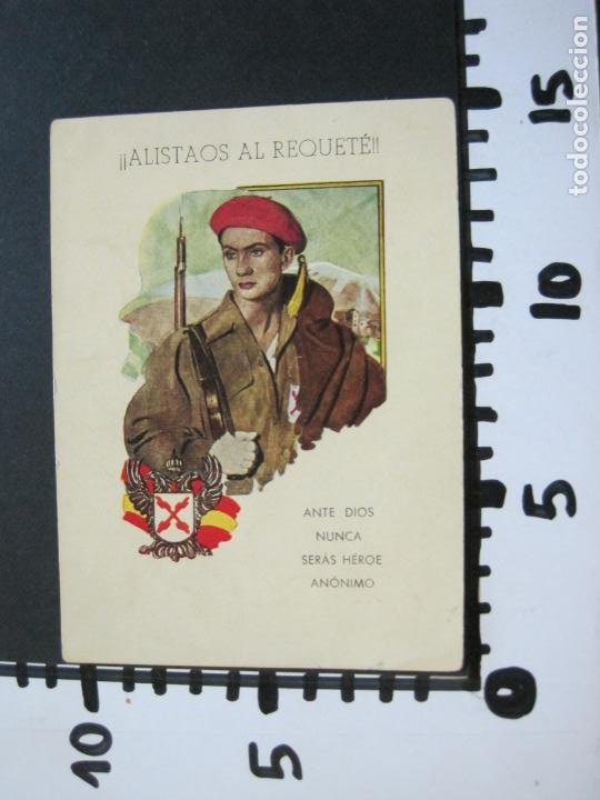 Militaria: ALISTAOS AL REQUETE !--PUBLICIDAD ANTIGUA-(70.531) - Foto 7 - 205319741