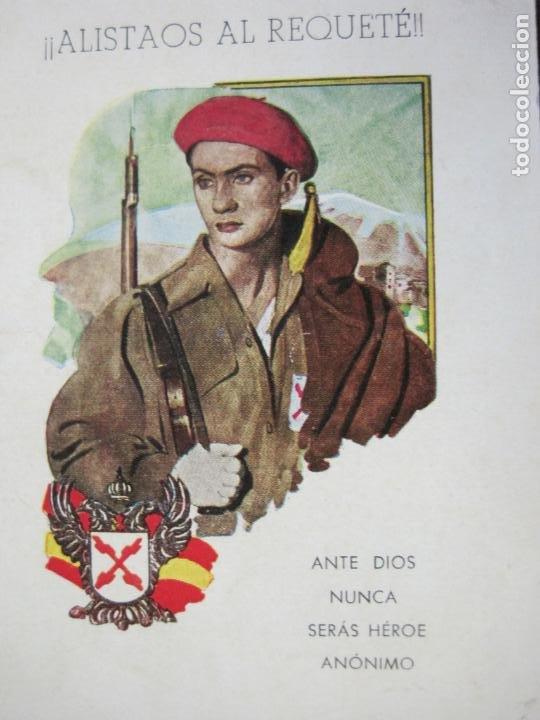 Militaria: ALISTAOS AL REQUETE !--PUBLICIDAD ANTIGUA-(70.531) - Foto 2 - 205319741