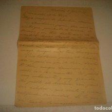 Militaria: CARTA ESCRITA DURANTE LA GUERRA CIVIL ESPAÑOLA EN MADRID CHAMARTIN. 5 /7 / 1937.INFANTERIA MARINA. Lote 205525310