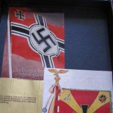 Militaria: 16 PEGATINAS NAZIS. CEDADE 1982.. Lote 207273030