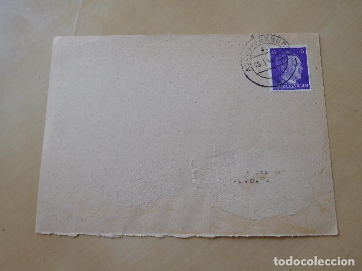 CARTA CIRCULADA ALEMANA III REICH (Militar - Propaganda y Documentos)