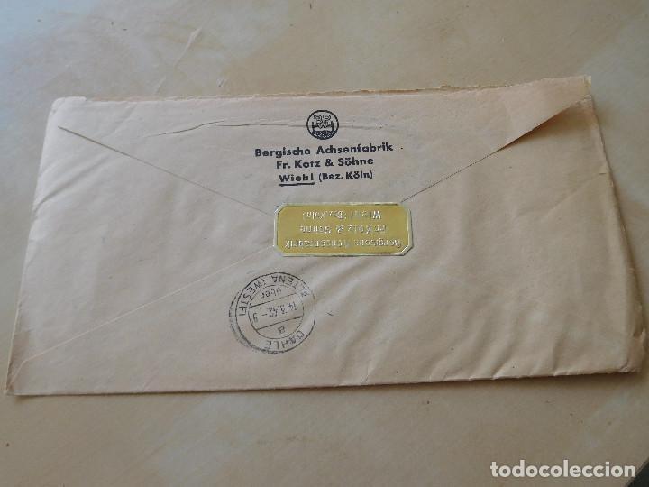 Militaria: Carta circulada alemana III Reich - Foto 2 - 210176107