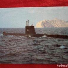 Militaria: SUBMARINO TONINA S-62.SELLO EN EL REVERSO.ESTADO MAYOR..SIN CIRCULAR. Lote 210245392
