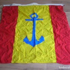 Militaria: ANTIGUA BANDERA NAVAL DE CAPITAN GENERAL DE LA ARMADA. ARMADA ESPAÑOLA.. Lote 210460765