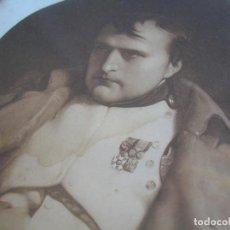Militaria: MUY ANTIGUO Y DECORATIVO GRABADO DEL EMPERADOR NAPOLEON BONAPARTE. GUERRA DE LA INDEPENDENCIA.. Lote 210788382