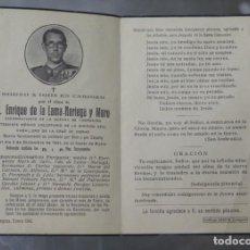 Militaria: ESQUELA. EXCOMBATIENTE GUERRA CIVIL Y CAIDO DIVISION AZUL. CABALLERO CRUZ DE HIERRO. 1941. Lote 212467677