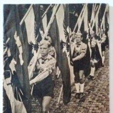Militaria: REVISTA DE PROPAGANDA DE LA ALEMANIA NAZI. LA JUVENTUD EN SU COMETIDO Y ALEGRIA. HARALD JAHRL.. Lote 215722938