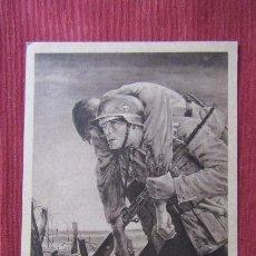 Militaria: ANTIGUO ENTERO POSTAL TARJETA POSTAL ALEMANA III REICH ALEMÁN II SEGUNDA GUERRA MUNDIAL AÑO 1943. Lote 215940798