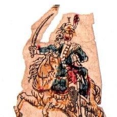 Militaria: GUERRA DE LA INDEPENDENCIA,DIBUJO ORIGINAL DE OFICIAL DE CABALLERIA DE NAPOLEON BONAPARTE AÑO 1810. Lote 216571028