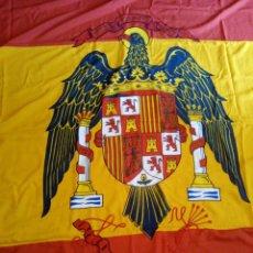 Militaria: BANDERA DE ESPAÑA, GUERRA BUQUE O CUARTEL, AGUILA DE SAN JUAN. Lote 218256870