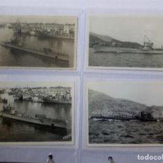 Militaria: LOTE CUATRO FOTOGRAFÍAS CASAÚ.TEMÁTICA SUBMARINOS.. Lote 218257377