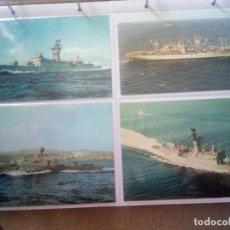 Militaria: LOTE 4, FRAGATAS CLASE BALEARES,PATRULLERO Y TRANSPORTE DE ATAQUE.. Lote 218257582