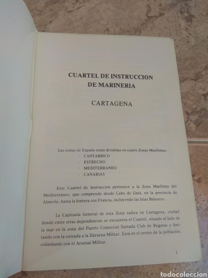 Militaria: Libro Informativo del Cuartel de Instrucción de Marinería - Cartagena - - Foto 2 - 218444845