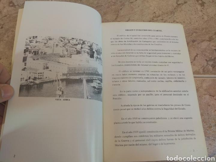 Militaria: Libro Informativo del Cuartel de Instrucción de Marinería - Cartagena - - Foto 3 - 218444845
