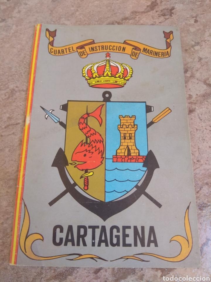 LIBRO INFORMATIVO DEL CUARTEL DE INSTRUCCIÓN DE MARINERÍA - CARTAGENA - (Militar - Propaganda y Documentos)
