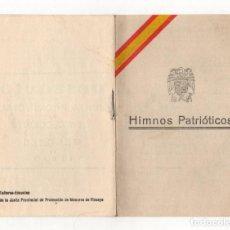 Militaria: HIMNOS PATRIOTICOS. JUNTA PROVINCIAL DE PROTECCION DE MENORES DE VIZCAYA. C. 1935. Lote 219280277