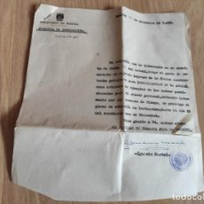 Militaria: DOCUMENTO Y LIBRO EXAMEN CONVOCATORIA A ESPECIALISTA DE LA ARMADA 1958, MARINA ESPAÑOLA, JEFATURA IN. Lote 221327475