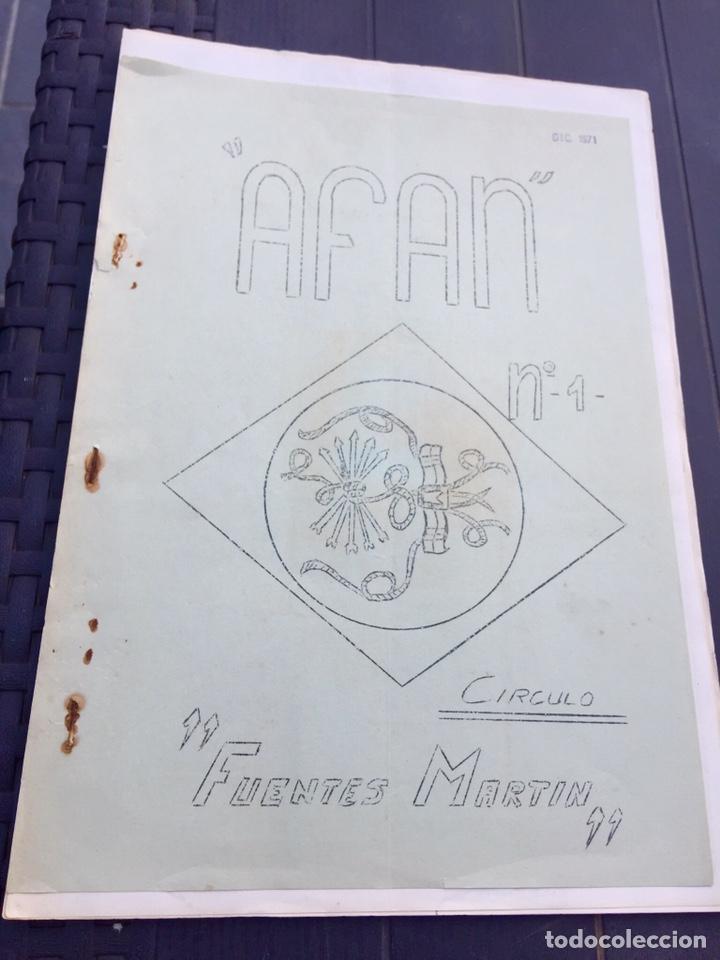 PUBLICACIÓN REVISTA FANZINE OJE,FALANGE,FRANCO,FRENTE DE JUVENTUDES,MILICIAS,SEU, (Militar - Propaganda y Documentos)