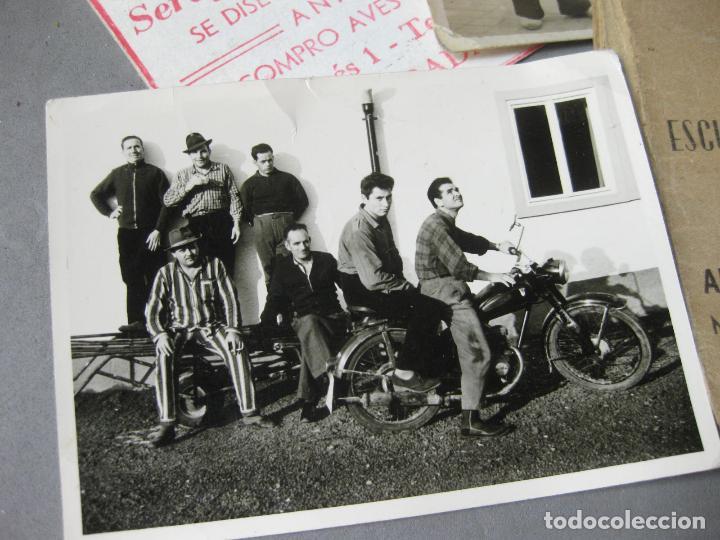 Militaria: CARNET DE LA ESCUELA DE AUTOMOVILISMO DEL EJÉRCITO 1946 CABALLERÍA DRAGONES DE ALMANSA. MOTOCICLETAS - Foto 3 - 221510595