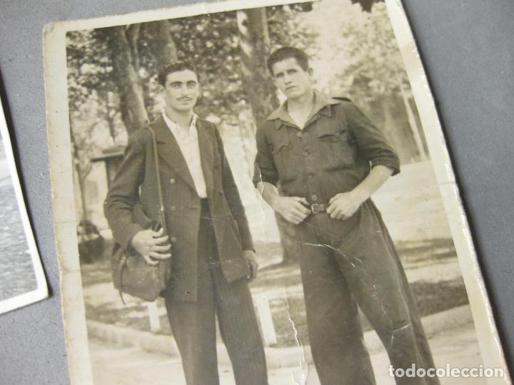 Militaria: CARNET DE LA ESCUELA DE AUTOMOVILISMO DEL EJÉRCITO 1946 CABALLERÍA DRAGONES DE ALMANSA. MOTOCICLETAS - Foto 4 - 221510595