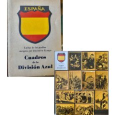 Militaria: II GUERRA MUNDIAL. ESPAÑA - ALEMANIA. DIVISIÓN AZUL, ESTUCHE ORIGINAL COMPLETO CON 12 POSTALES.. Lote 222719533