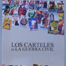 Militaria: 160 LAMINAS REPRODUCCIÓN DE CARTELES DE LA GUERRA CIVIL ESPAÑOLA DE BANDO NACIONAL Y LA II REPUBLICA. Lote 222947432