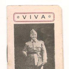 Militaria: ALMANAQUE DE BOLSILLO DE LA GUERRA CIVIL ESPAÑOLA DEL AÑO 1937. Lote 223083870