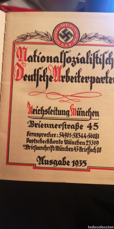 Militaria: Antiguo carnet del Partido Nacional Socialista SA - Foto 3 - 223138587